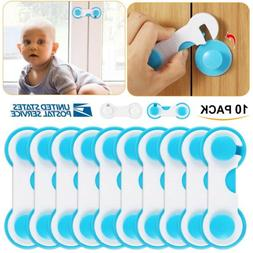 10x Kids Safety Locks Baby Box Drawer Cabinet Cupboard Wardr