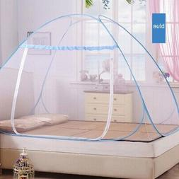 Easy Pop-Up Standing Tent Single Door Netting Mosquito Net F