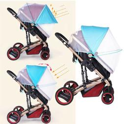 2-in-1 Baby Stroller Mosquito Net&Sun Shade Canopy Zippered