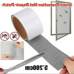 Insects Screen Patch Repair Kit Mosquito Door Window Net Sti