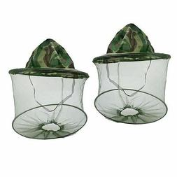 2pcs Mosquito Resistance Bug Net Mesh Head Face Protector Ca