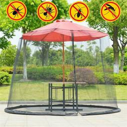 300CM Umbrella Mosquito Net Bug Insect Table Screen Cover Ou