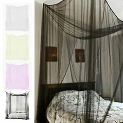 4 Corner Post Bed Canopy Full Queen King Size Mosquito Net B