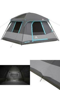 6 Person Outdoor Cabin Tent Instant Portable Camping Shelter