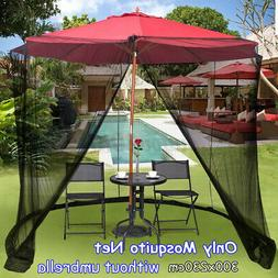 8-10FT Screen Canopy Mesh Mosquito Net Enclosure Insect Outd