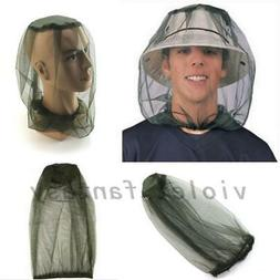Anti-mosquito Bee Bug Insect Fly Mask Cap Hat with Head Net
