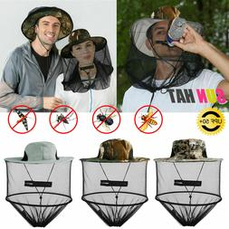 Anti-Mosquito Bug Fly Bee Insect Head Net Hat Cap Sun Protec