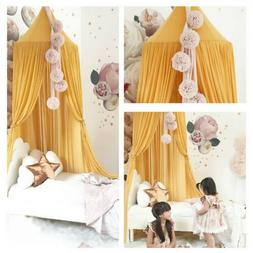 Baby Bed Canopy Bedcover Mosquito Net For Kid Baby Crib Prin