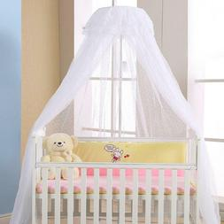 Baby Crib Canopy Bed Mosquito Net Netting Dome Toddler Infan