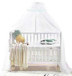 Hanging Canopy Netting Bedcover for Baby Bed Crib with Clip-