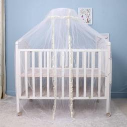 Baby Mosquito Net Netting Nursery Crib Bed Cot Canopy Cover