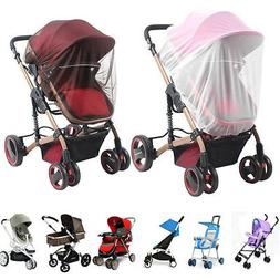 Baby Stroller Mosquito Insect Net Cover Fit Pram Bassinet Ca