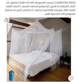Bed Canopies & Drapes PREMIUM MOSQUITO NET Extra Large For T