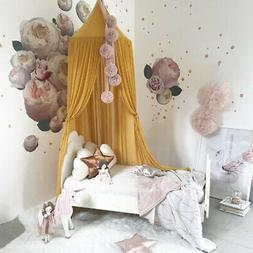 Bed Canopy Nursery Dome Princess Mosquito Net Block out Ligh