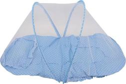 Blue Dotted Printed Pattern Baby Bedding Bed Mosquito Net Pi