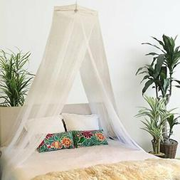 Bobo & Bee - Premium Bed Canopy Mosquito Net Curtains Includ