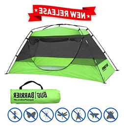 EasyGO Products Bug Barrier Mosquito Bug Tent with Pop Up Mo