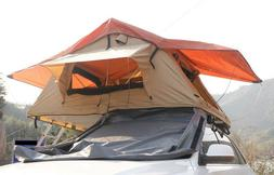Techtongda Camp Roof Tent Roof Top Tent Camping Outdoors Fre