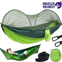 Camping Hammock Travel Portable Tent With Mosquito Net Nylon