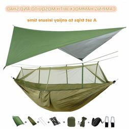 camping hammock with mosquito net under quilt