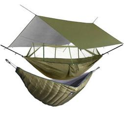 Camping Hammock with Mosquito Net / Under Quilt Blanket/ Rai