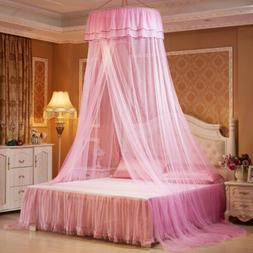 Canopy Mosquito Net Bedcover Bed Dome Tent for Baby Girl Roo