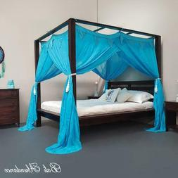 CANOPY STANDARD Buttonless Coloured - Muslin Mosquito Net fo
