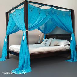CANOPY STANDARD Coconut Button - Mosquito Net for Four Poste