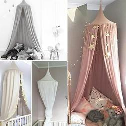 Child Baby Bed Canopy Netting Bedcover Mosquito Net Curtain