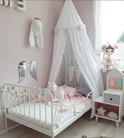 Cotton Baby Room Decoration Ball Mosquito Net Kids Bed Canop