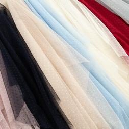DIY Fabric Tulle Mesh for Dress Mosquito Net Patchwork Breat