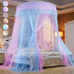 Dome Mosquito Net Canopy Fly Insect Protect Single Entry for