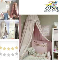 Dome Princess Bed Stars Canopy, Cotton Mosquito Net Kids Pla