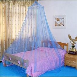 Elegant Lace Bed Mosquito Netting Mesh Canopy Princess Round