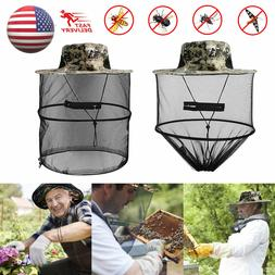 Fishing Net Hat Anti-Mosquito Bugs Insect Face Head Protecto