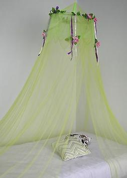 Octorose ® Flower Top Around Bed Canopy Mosquito Net for Be
