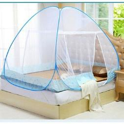 Foldable  Home Bedroom Mosquito Bug Net Block Easy Pop-Up Fr