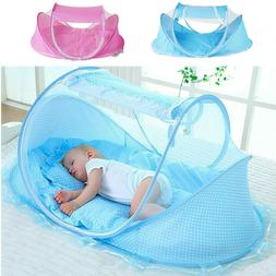 Foldable Infant Baby Mosquito Net Baby Canopy Bed Holiday Tr