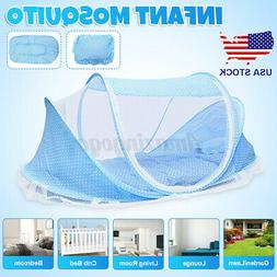 Foldable Infant Baby Mosquito Net Tent Travel Instant Crib M