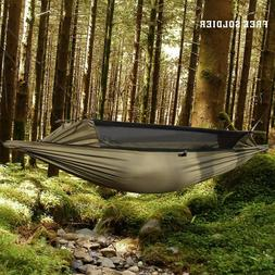 FREE SOLDIER Military Hammock Tent With Anti Mosquito Net Me