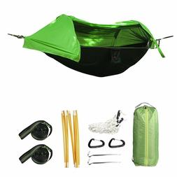 Hammock Tent with Mosquito Net Rainfly Rain Cover Waterproof