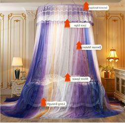 Hanging Netting - Camping Insect Digead Purple Mture for Sin