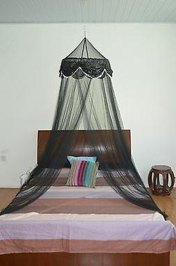 OctoRose hoop with sequins bed canopy mosquito net fit all s