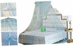 HOUSWEETY New Round Lace Curtain Dome Bed Canopy Netting Pri
