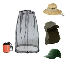 Insect Mesh Mosquito Head Face Net Midge Bee Camping Fishing