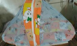 KiddosCare Toddler Mattress with Mosquito Net for Baby