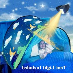 kids bed tents with light children night