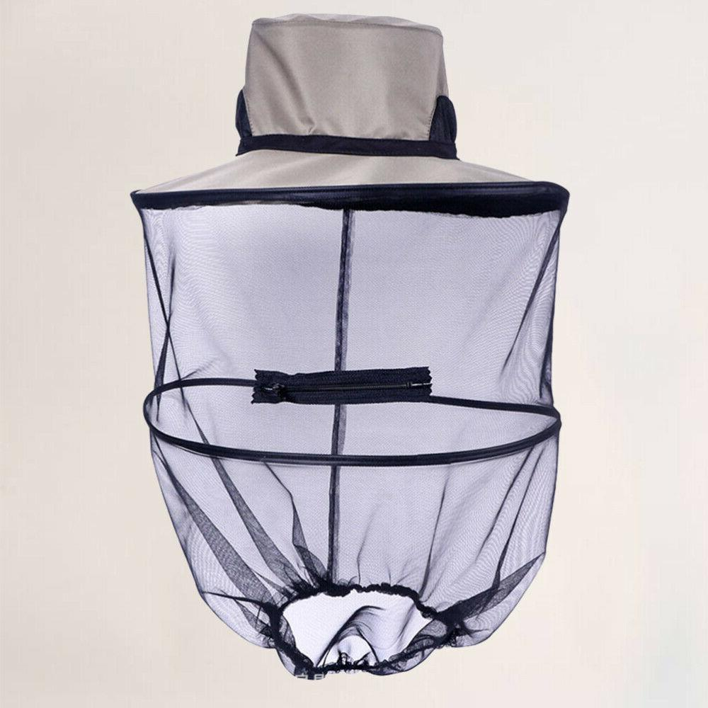 1 Pc Pest Control Hat Insect Face Net for Fishing