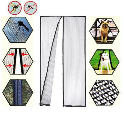 Mosquito Mesh Screen Hands Magnets Anti Curtain