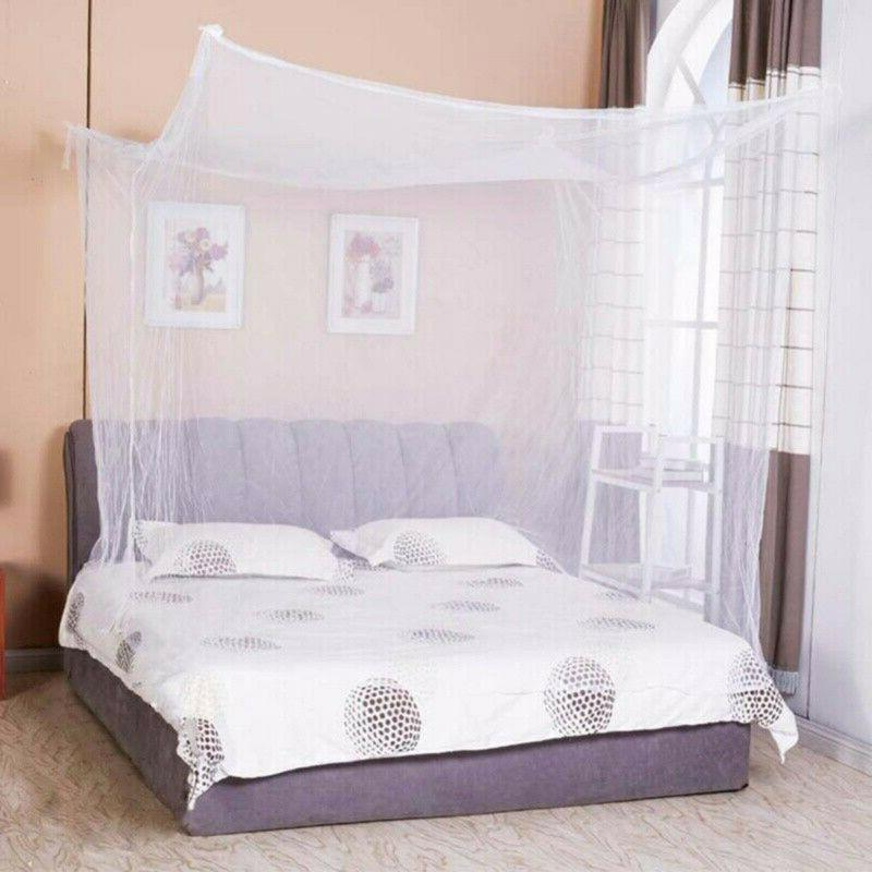 Mosquito Net Full/Queen King Size Netting Bedding.US